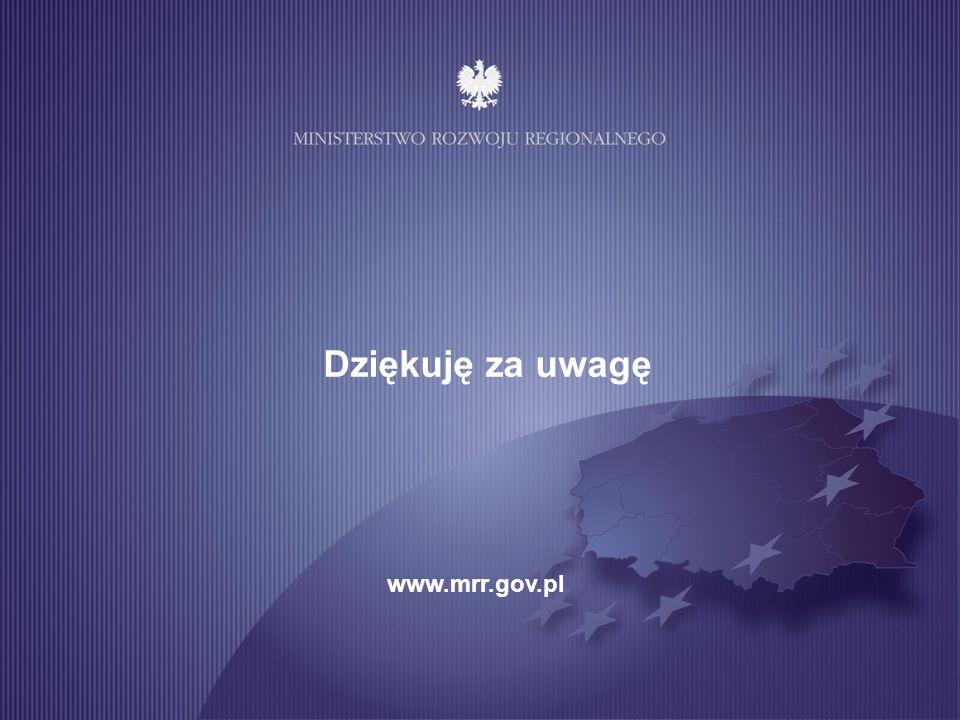 10 Dziękuję za uwagę www.mrr.gov.pl