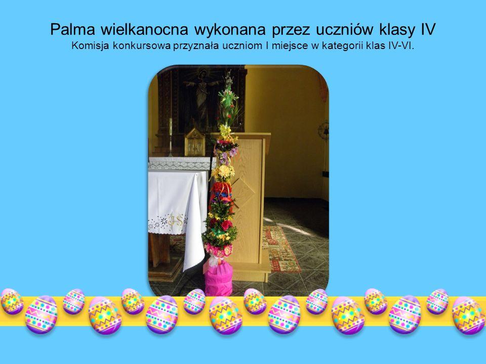 Palma wielkanocna lub zastępująca ją gałązka wierzbowa, jest tradycyjnym symbolem Niedzieli Palmowej z którą wiąże się zwyczaj święcenia palm znany w Polsce od średniowiecza.