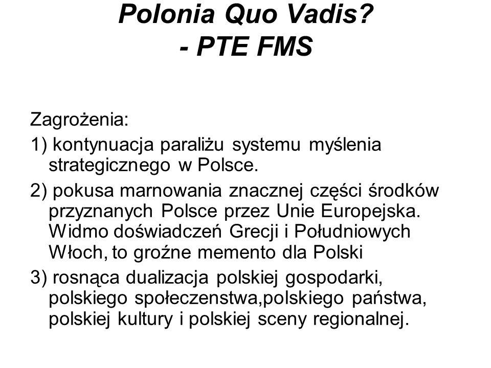 Pytania (FMS - Kukliński) Polsko dokąd idziesz.Polsko przed kim idziesz.