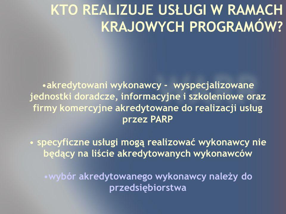 n nPrzygotowanie kadry MSP do zarządzania jakością; n nUzyskanie certyfikatów zgodności dla wyrobów, surowców, maszyn i urządzeń, aparatury i personelu áocena zgodności wyrobów z dyrektywami UE, nadawanie znaku CE n nUzyskanie certyfikatu systemu jakości w specyficznych sektorach przemysłu; n nDoskonalenie systemów zarządzania po uzyskaniu certyfikatu.