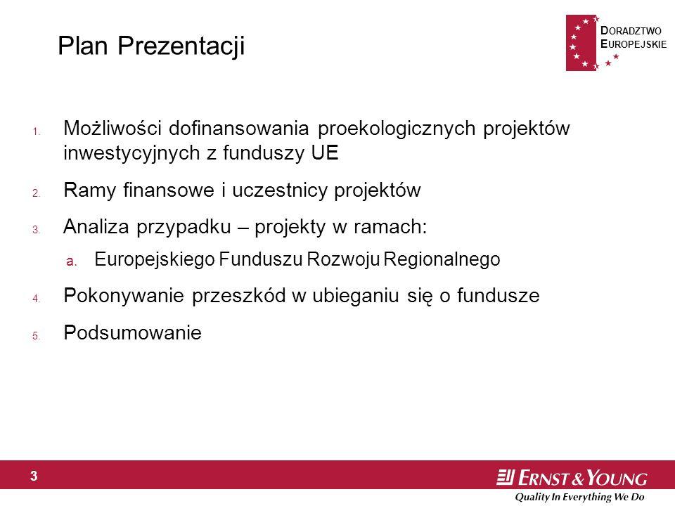 D ORADZTWO E UROPEJSKIE 3 Plan Prezentacji 1.