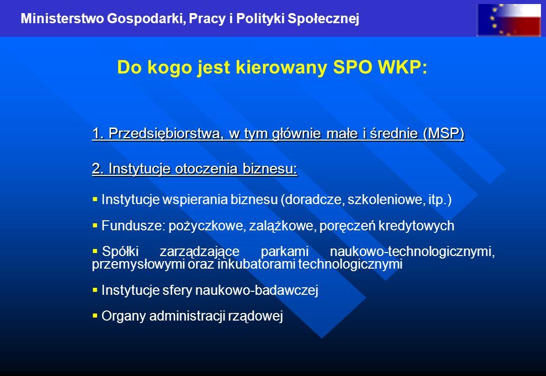 Ministerstwo Gospodarki, Pracy i Polityki Społecznej 1.