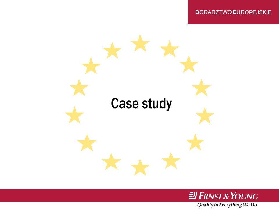 DORADZTWO EUROPEJSKIE Case study