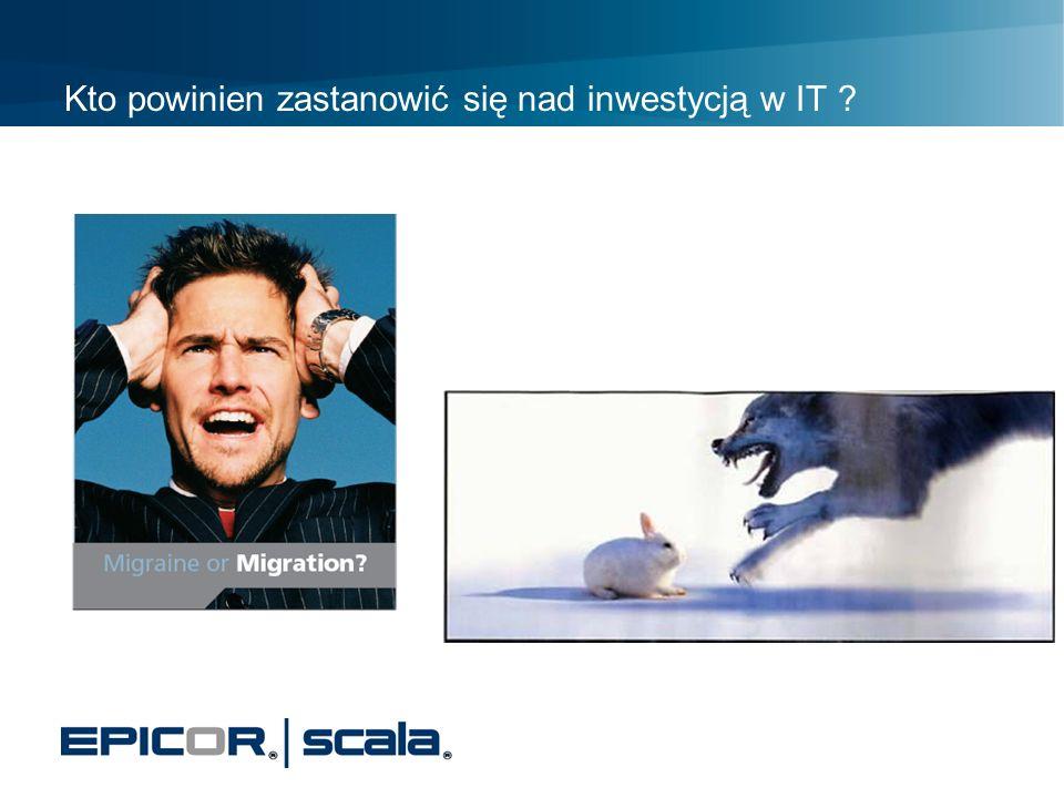 Kto powinien zastanowić się nad inwestycją w IT ? Czy jesteśmy przygotowani do konkurencji ?