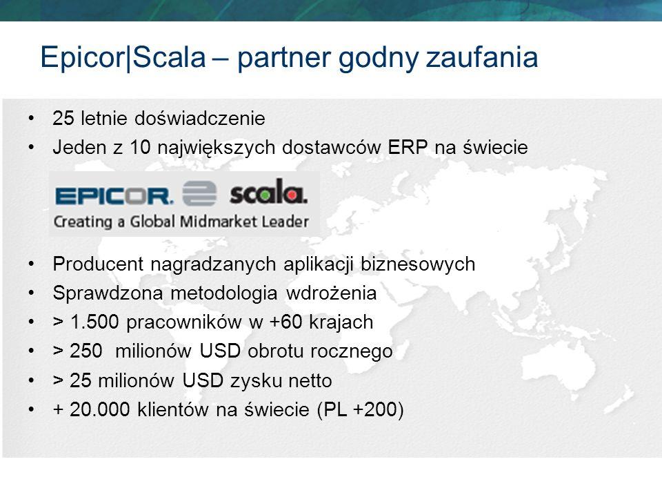 25 letnie doświadczenie Jeden z 10 największych dostawców ERP na świecie Producent nagradzanych aplikacji biznesowych Sprawdzona metodologia wdrożenia
