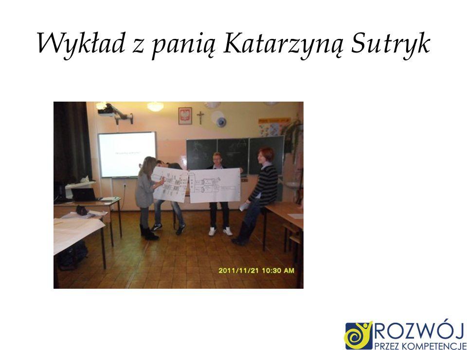 Wykład z panią Katarzyną Sutryk