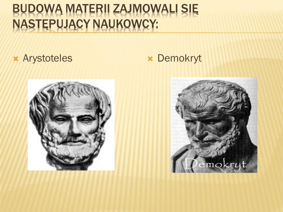 Arystoteles Demokryt