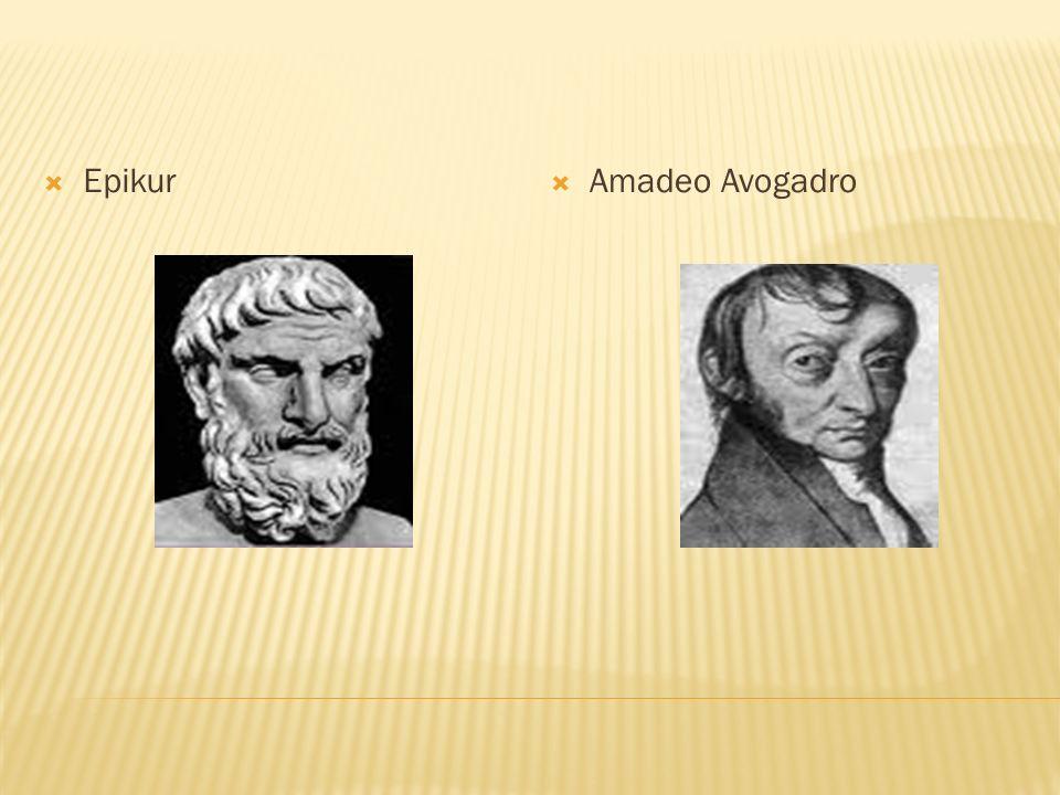 Epikur Amadeo Avogadro