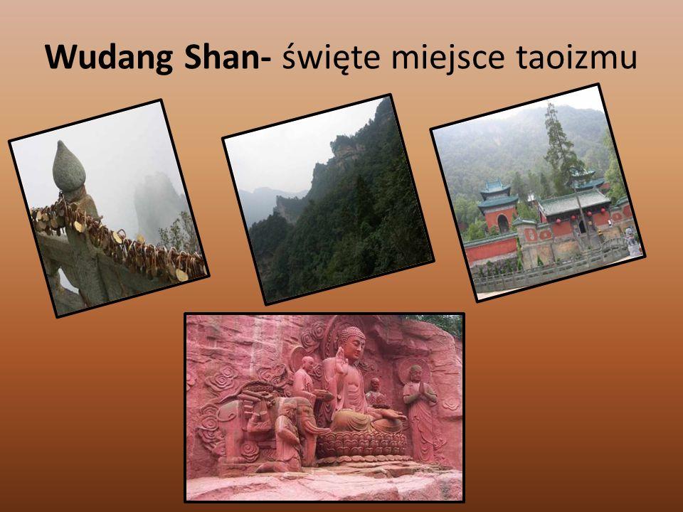 Wudang Shan- święte miejsce taoizmu