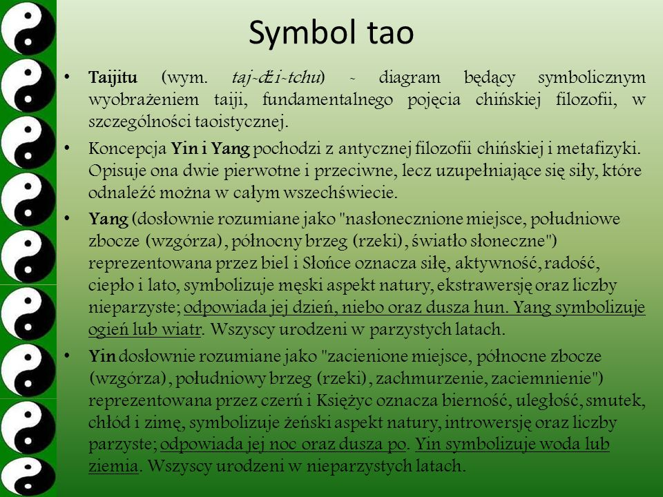 Symbol tao Taijitu (wym.