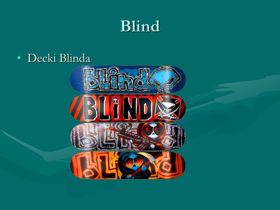 Blind Decki BlindaDecki Blinda