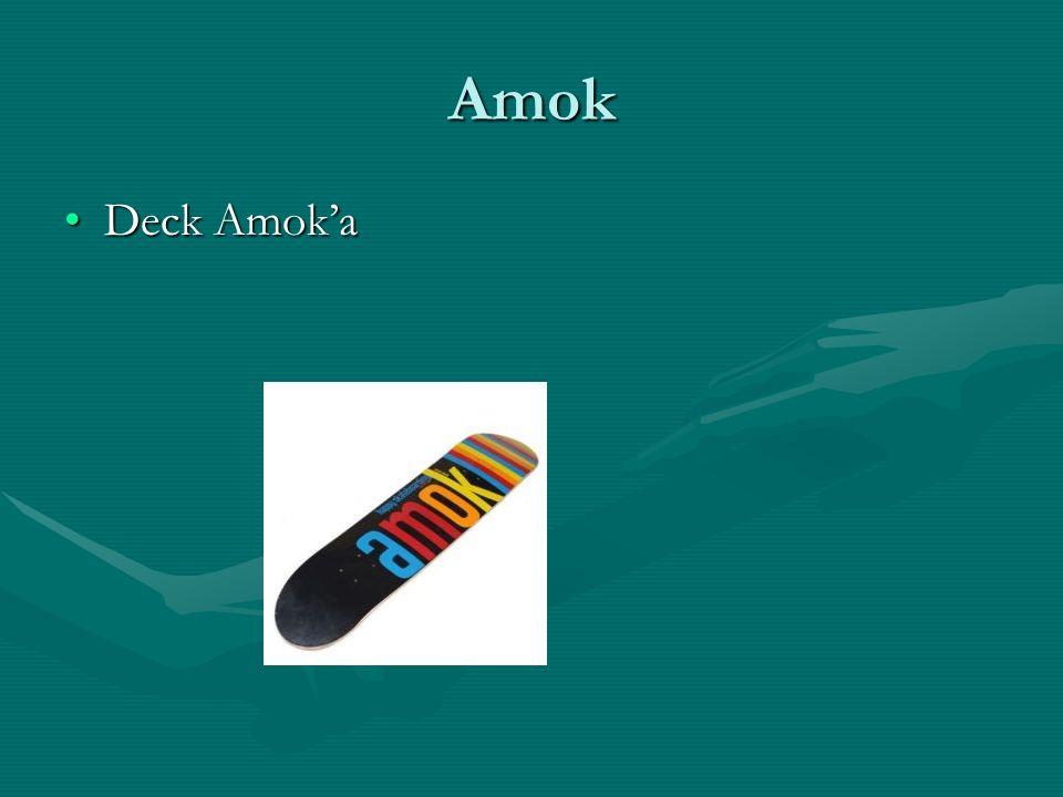 Amok Deck AmokaDeck Amoka