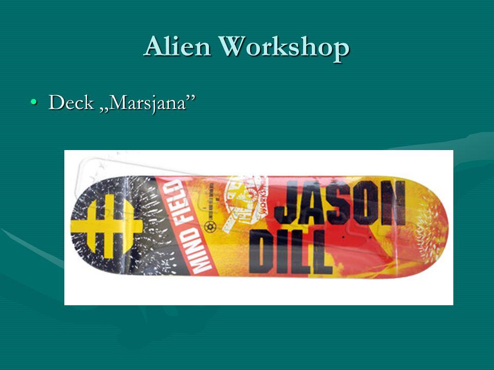 Alien Workshop Deck MarsjanaDeck Marsjana
