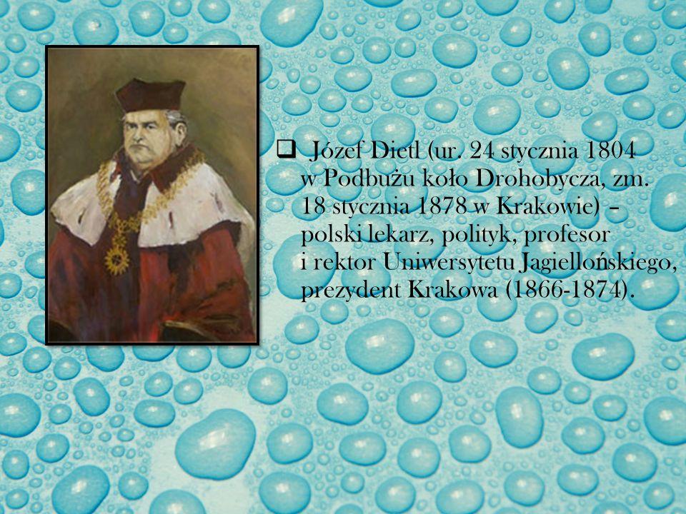 Józef Dietl (ur. 24 stycznia 1804 w Podbu ż u ko ł o Drohobycza, zm. 18 stycznia 1878 w Krakowie) – polski lekarz, polityk, profesor i rektor Uniwersy