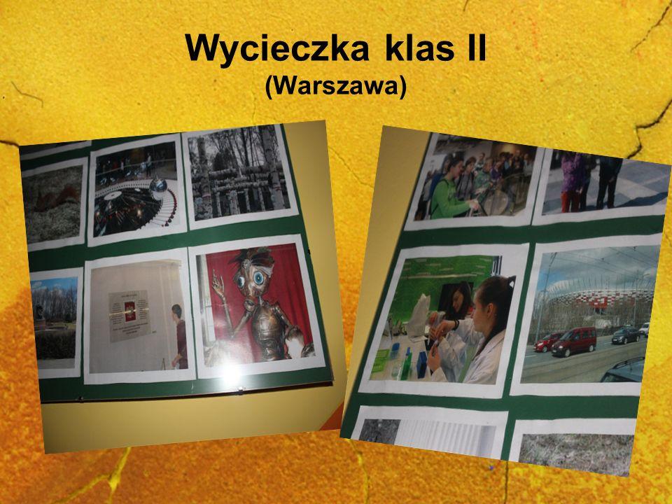Wycieczka klas II (Warszawa)