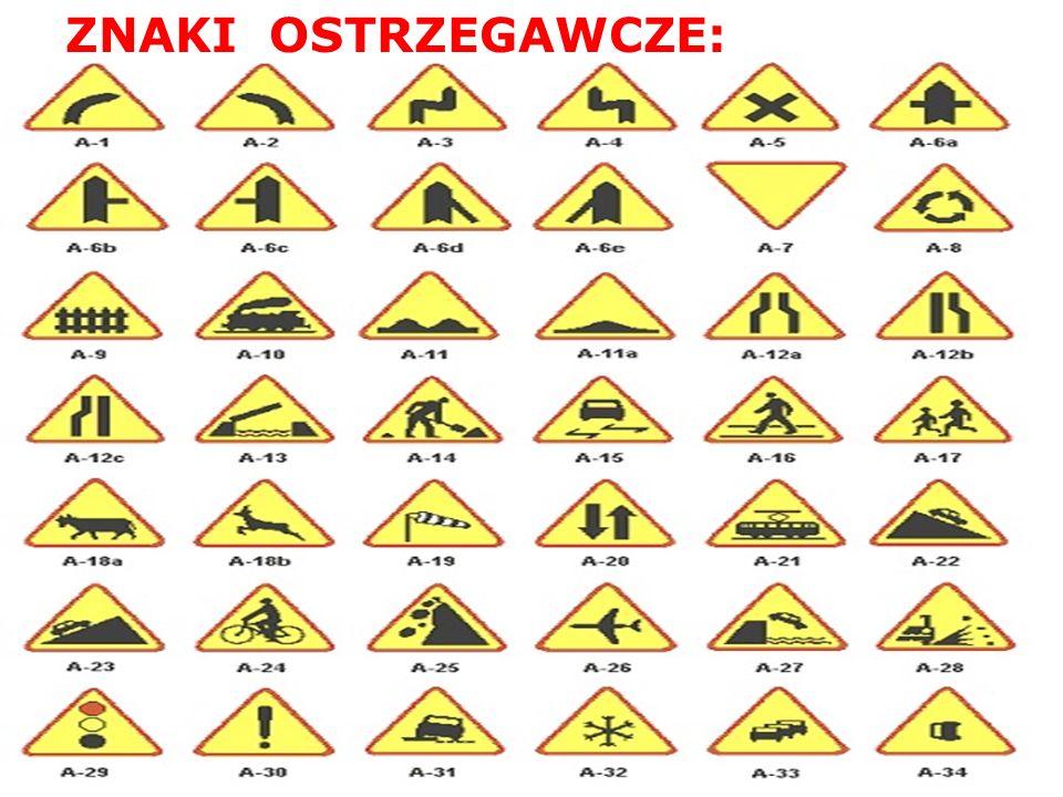 Idąc w pobliżu drogi zachowajcie szczególną ostrożność, gdyż droga hamowania pojazdów jest znacznie dłuższa;