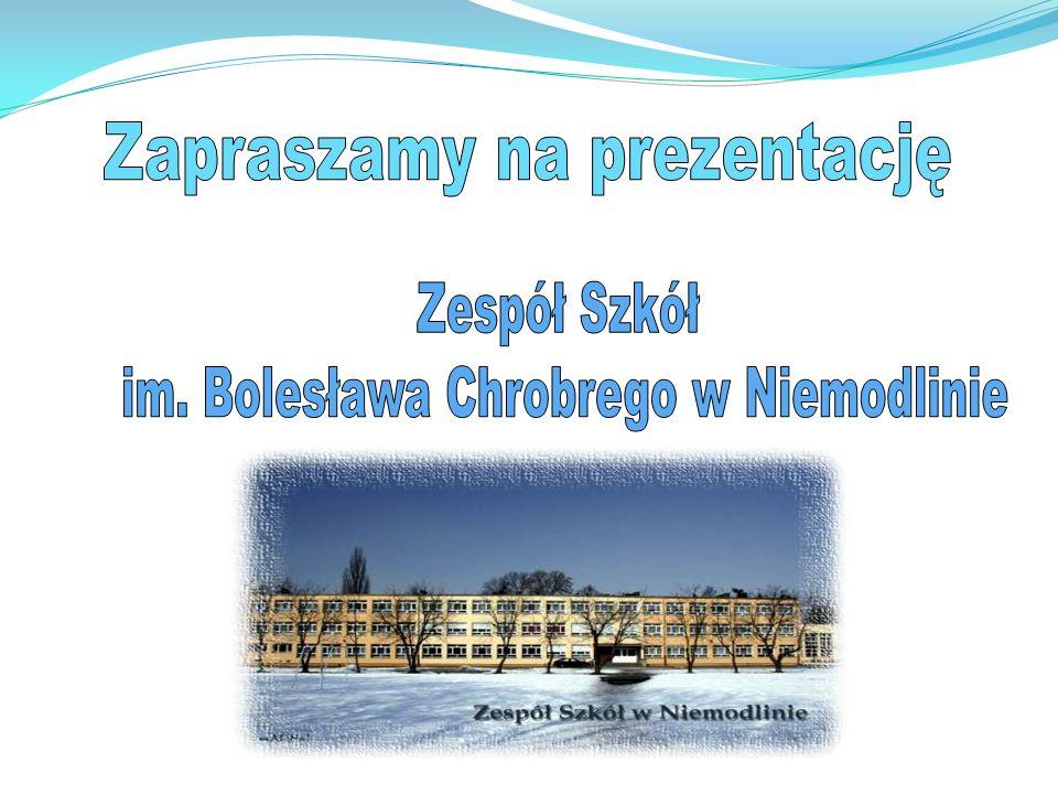 Zespół Szkół im.Bolesława Chrobrego w Niemodlinie ul.