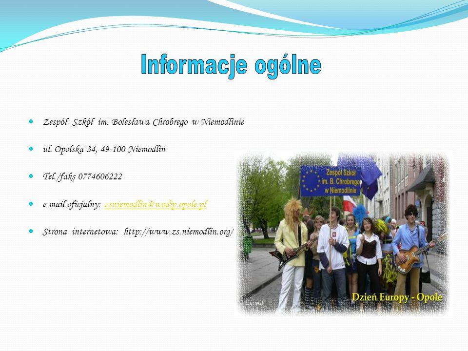 - Gimnazjum ogólnokształcące dla młodzieży - Liceum ogólnokształcące dla dorosłych - Zasadnicza szkoła zawodowa