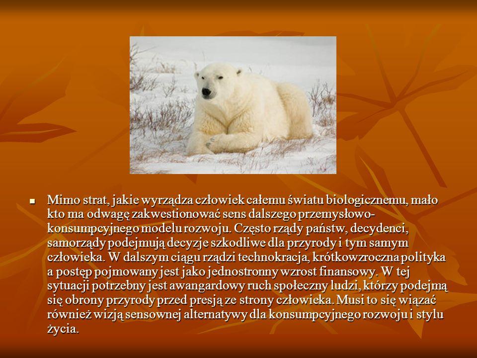 Do tej pory w ramach programów realizowanych przez Ekofundusz, prowadzonych głównie przez organizacje pozarządowe, zajmowano się bezpośrednią ochroną kilkudziesięciu gatunków zwierząt i roślin, umieszczonych na polskich i międzynarodowych listach zagrożonych gatunków.