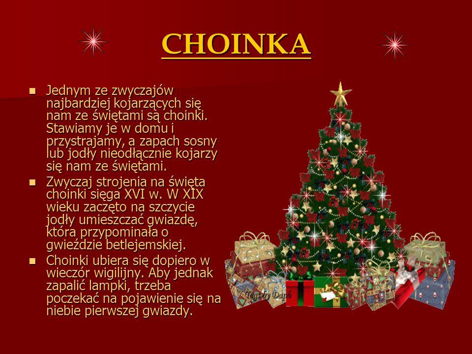PREZENTY Zwyczaj wzajemnego obdarowywania się prezentami (zwłaszcza dzieci) związany był z życiem św.