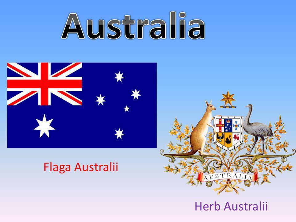 Flaga Australii Herb Australii