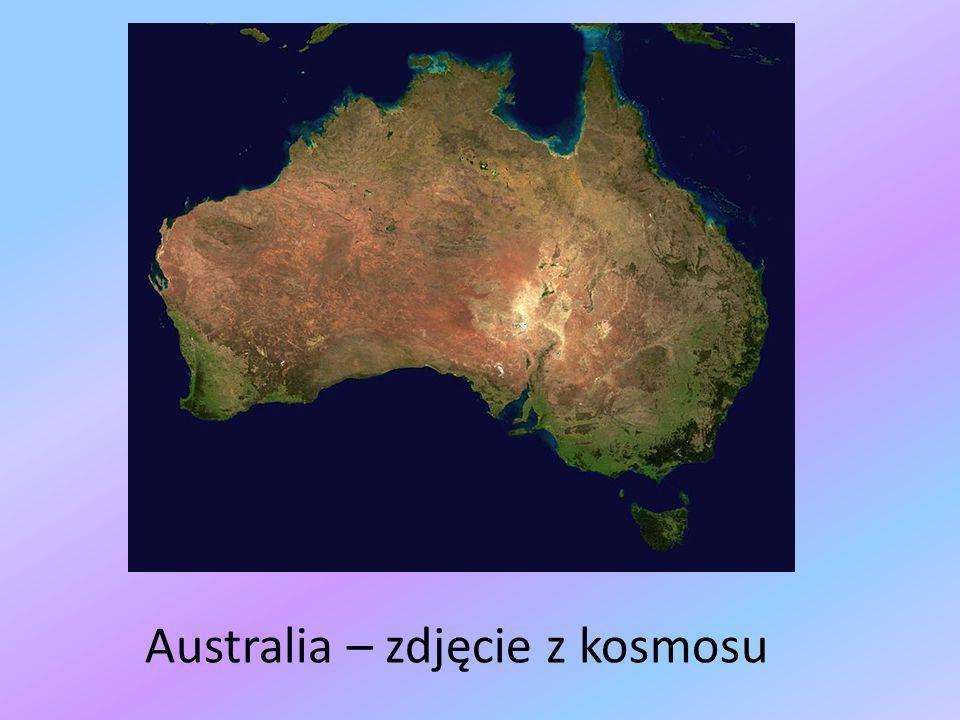 Australia – zdjęcie z kosmosu