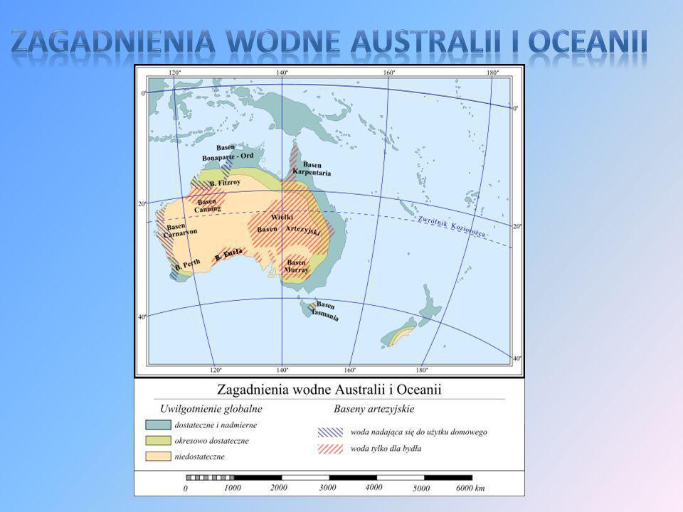 Australia z Tasmanią tworzy odrębne florystyczne państwo australijskie.