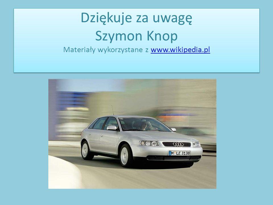 Dziękuje za uwagę Szymon Knop Materiały wykorzystane z www.wikipedia.plwww.wikipedia.pl Dziękuje za uwagę Szymon Knop Materiały wykorzystane z www.wik