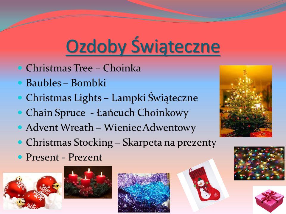 Ozdoby Świąteczne Christmas Tree – Choinka Baubles – Bombki Christmas Lights – Lampki Świąteczne Chain Spruce - Łańcuch Choinkowy Advent Wreath – Wien