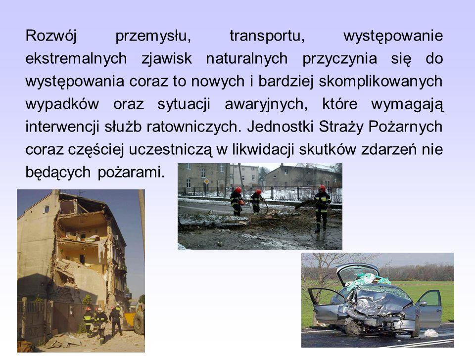 Sytuacje awaryjne, zdarzenia inne niż pożary wymagające interwencji służb ratowniczych są określane mianem inne miejscowe zagrożenia.