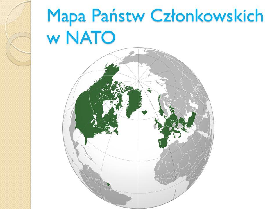 Mapa Państw Członkowskich w NATO