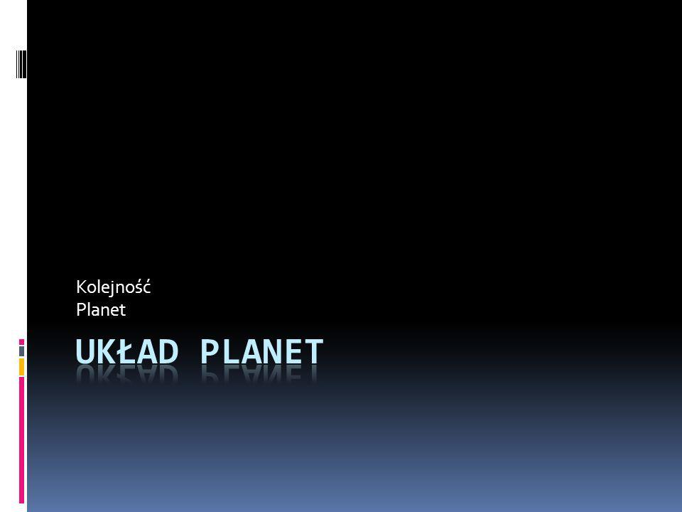 Kolejność Planet