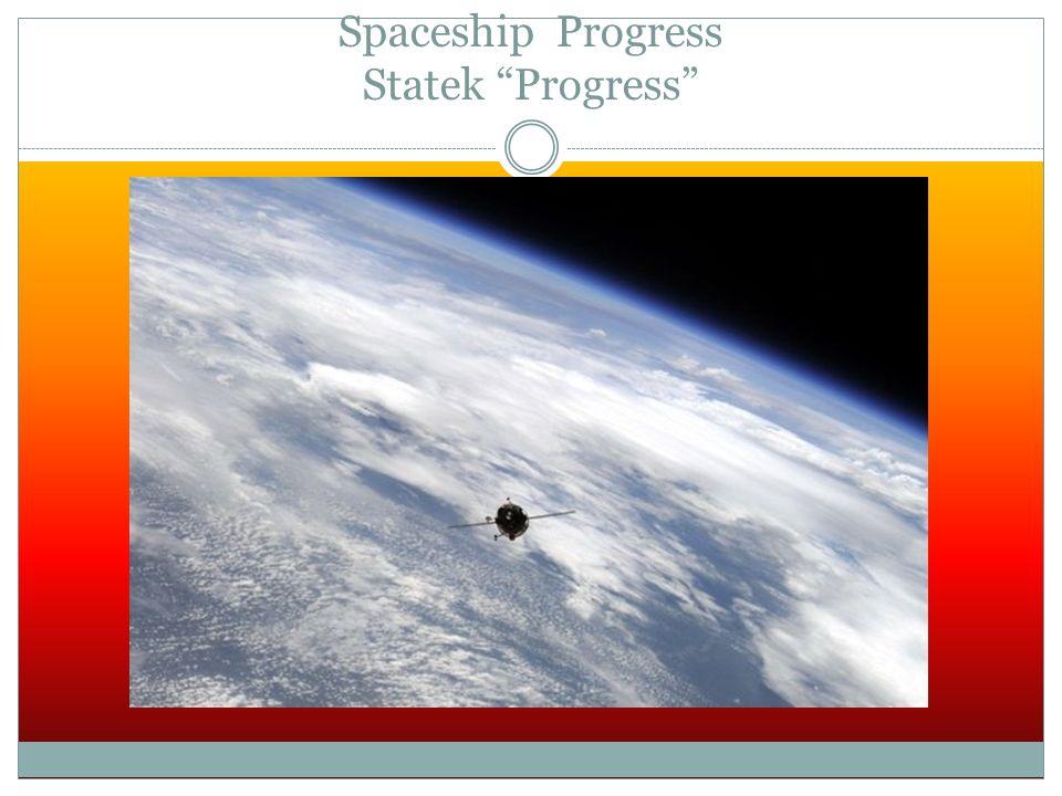 Spaceship Progress Statek Progress