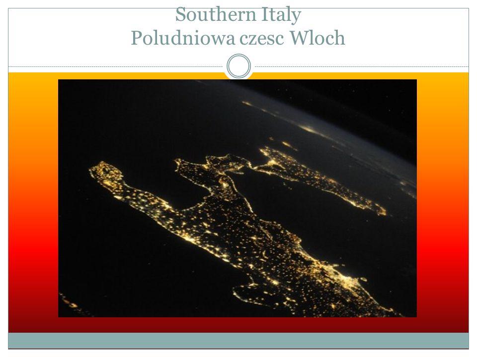Southern Italy Poludniowa czesc Wloch