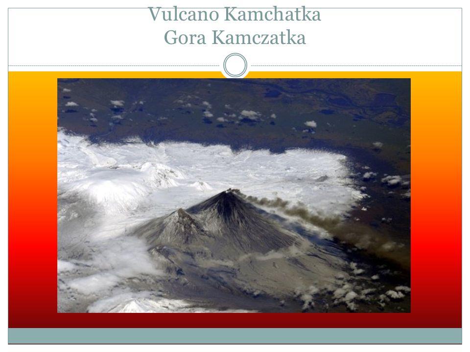 Vulcano Kamchatka Gora Kamczatka