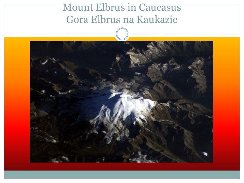 Mount Elbrus in Caucasus Gora Elbrus na Kaukazie