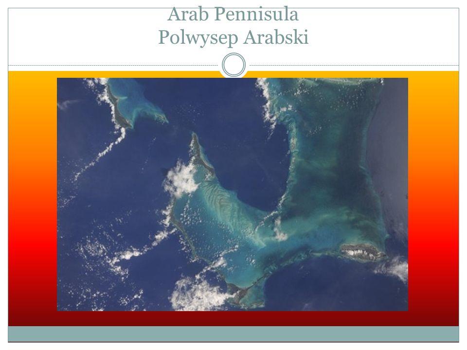 Arab Pennisula Polwysep Arabski