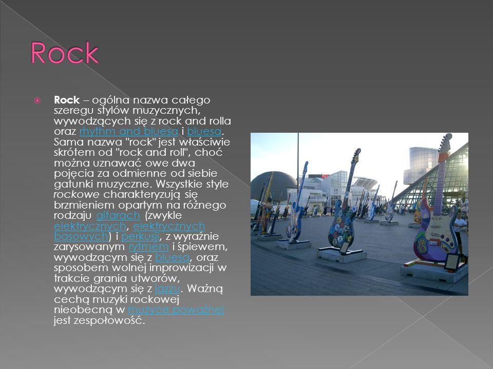 Punk – w węższym znaczeniu: gatunek muzyczny w obrębie muzyki rockowej( punk rock ) lub całokształt muzyki tworzonej przez grupy nawiązujące do ideolo