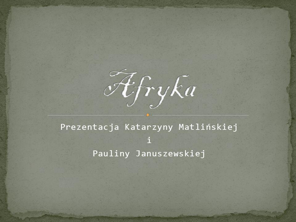 Prezentacja Katarzyny Matlińskiej i Pauliny Januszewskiej