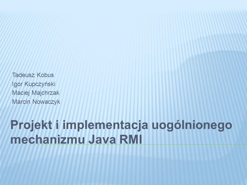 Integracja z działającym systemem Przesyłanie metadanych Zbieranie statystyk