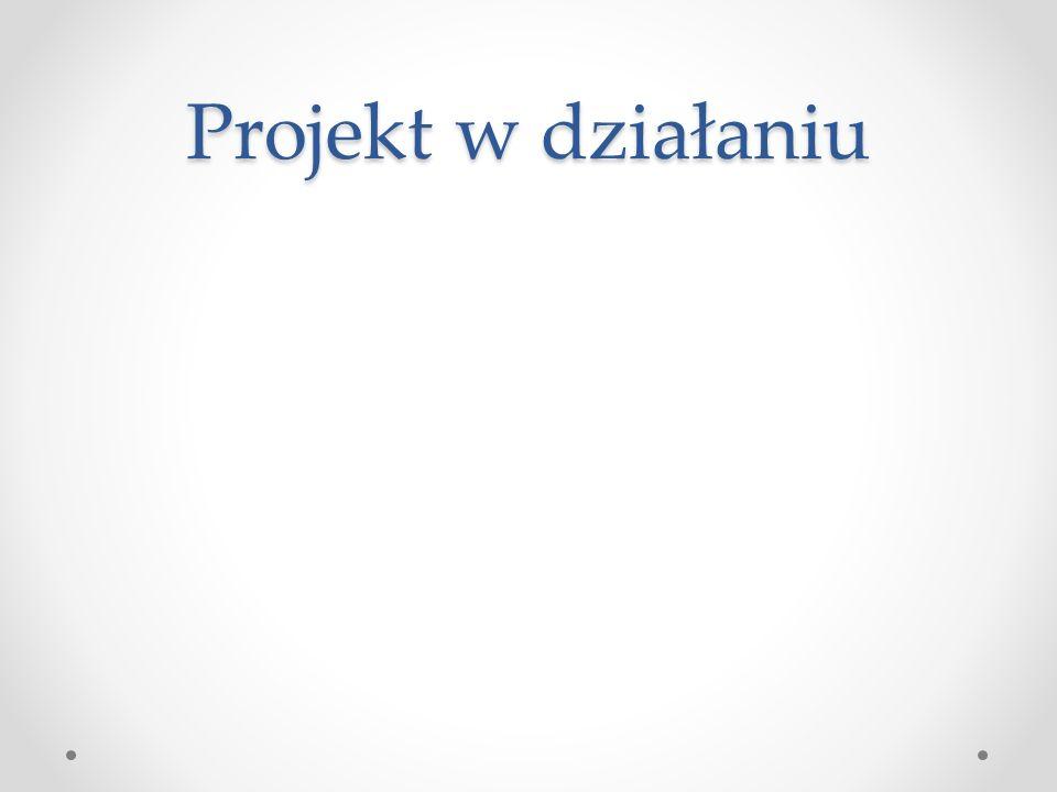 Projekt w działaniu