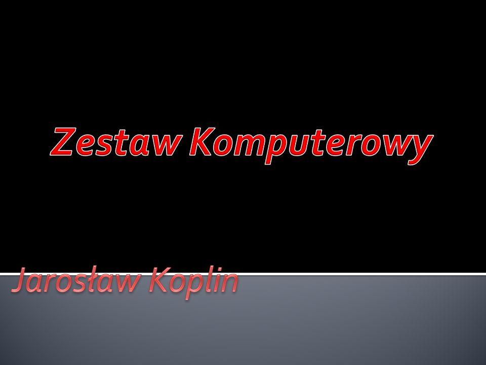 Jednostka centralna Mysz Klawiatura Głośniki Modem Drukarka Router Mikrofon Skaner Monitor Kamera Budowa komputera Bibliografia