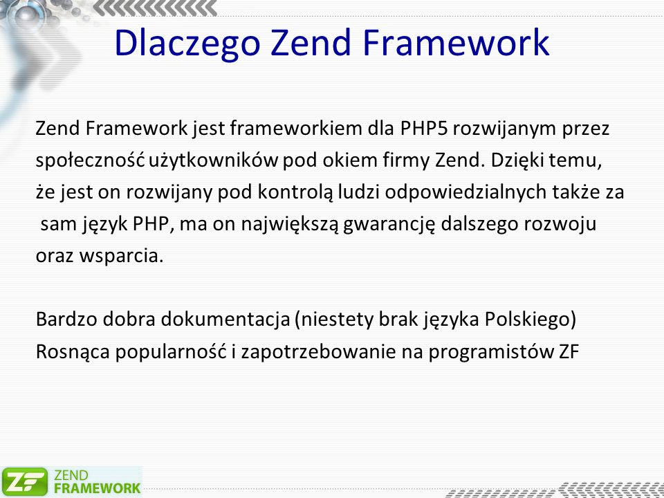 Serwis newsów – index.php include Zend/Loader.php ; /* * Load constant definitions.