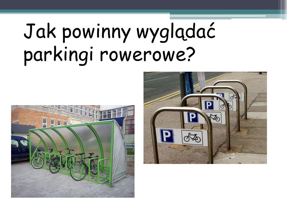 Jak powinny wyglądać parkingi rowerowe
