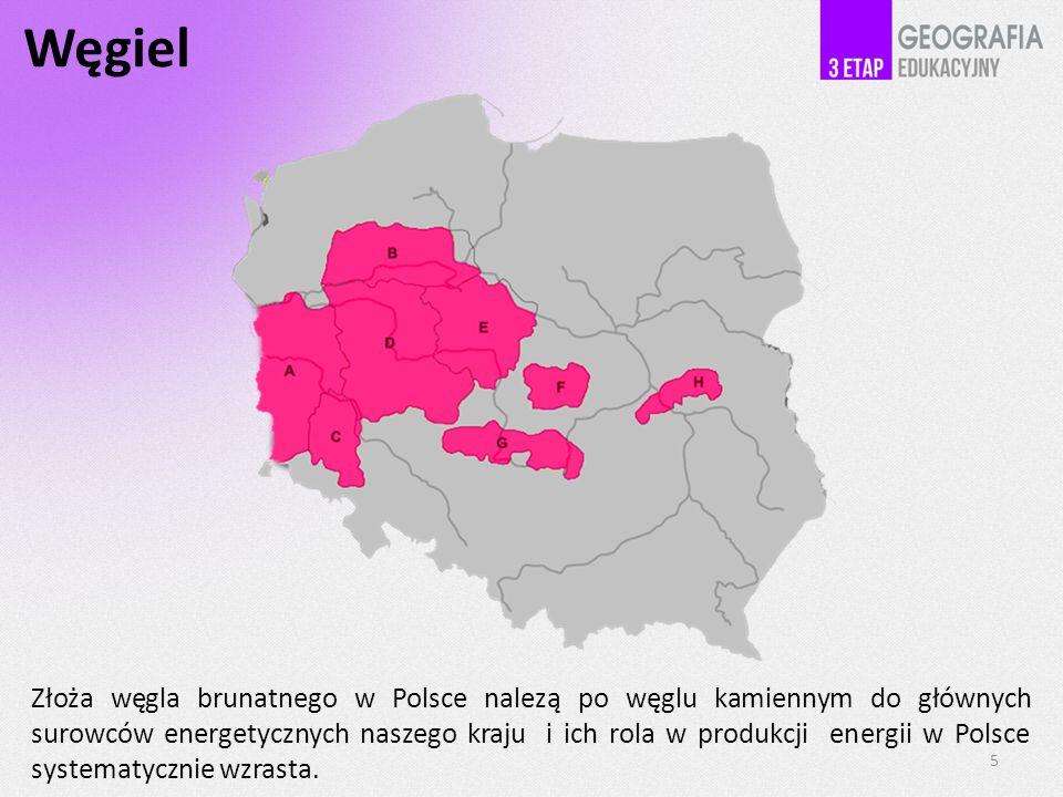 Węgiel Złoża węgla brunatnego w Polsce nalezą po węglu kamiennym do głównych surowców energetycznych naszego kraju i ich rola w produkcji energii w Po
