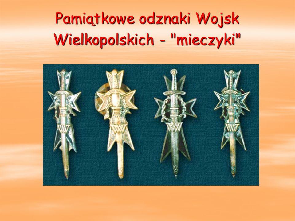 Pamiątkowe odznaki Wojsk Wielkopolskich -