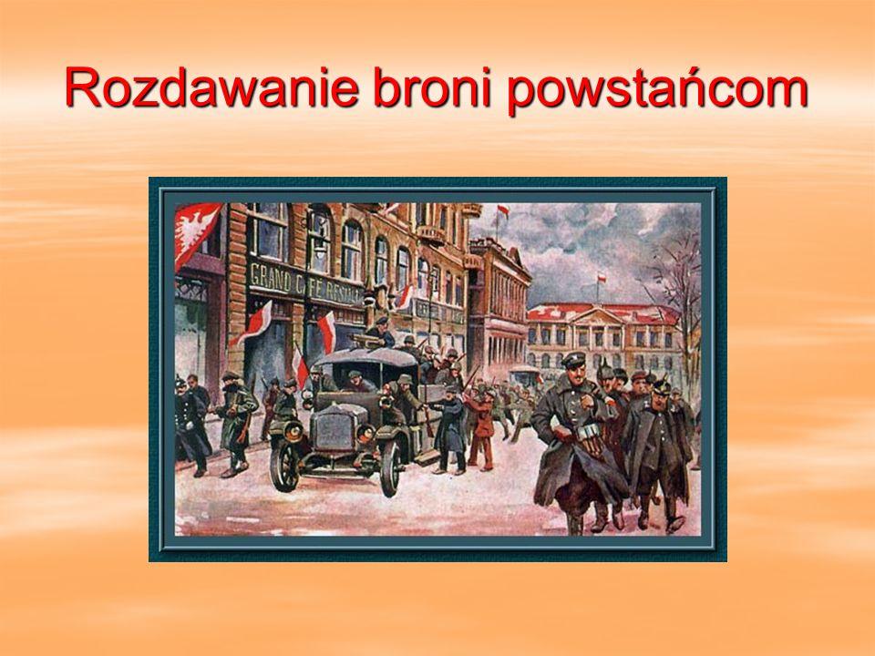 Powstańcy wielkopolscy.