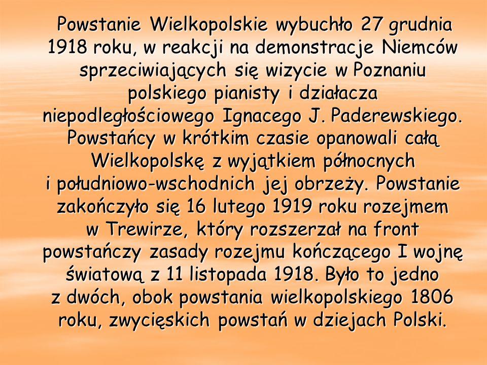 Wkroczenie polskiej warty na Główny Odwach w Poznaniu