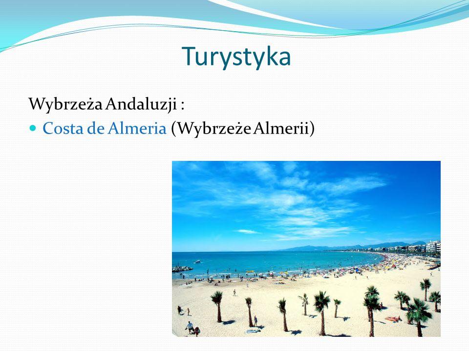 Turystyka Wybrzeża Andaluzji : Costa de Almeria (Wybrzeże Almerii)