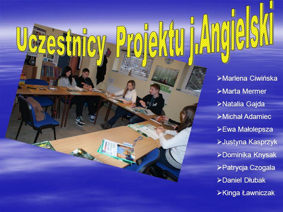 Marzena Szymczyk Mateusz Kozak Patryk Kotaba Andżelika Karoń Kamil Trzepaczyński Magdalena Gajda